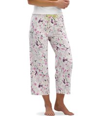 hue backyard capri pajama pants