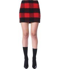 dsquared2 tartan mini skirt