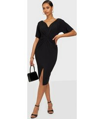nly one flowy sleeve midi dress fodralklänningar