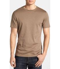 men's robert barakett georgia crewneck t-shirt, size small - brown