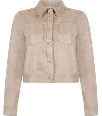jacket suedine