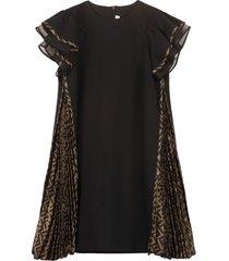 fendi frill dress