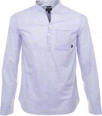 armani jeans striped blue shirt c6c42 9b