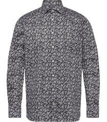 black & white flowers shirt overhemd casual multi/patroon eton