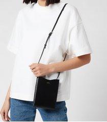a.p.c. women's neck pouch jamie - black