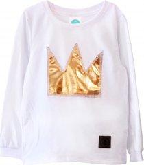 bluzka gold crown