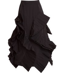 enfold rouches skirt