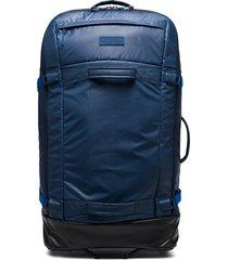 burton ak multipath 90l suitcase - blue