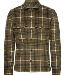 berthold ls shirt overhemd casual groen allsaints