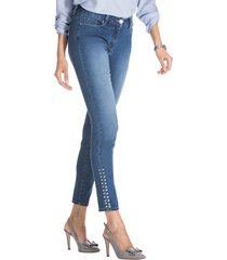 jeans med nitar amy vermont blue stone
