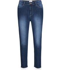 jeans cropped con pizzo maite kelly (nero) - bpc bonprix collection