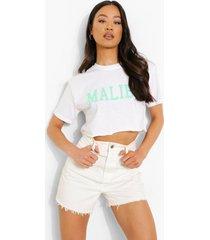 kort malibu t-shirt, white