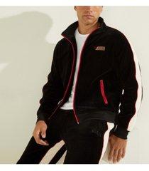 velvet track jacket