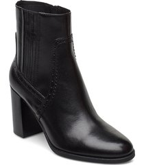 d jacy high d shoes boots ankle boots ankle boot - heel svart geox