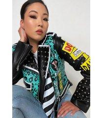 akira azalea wang trust panther moto jacket