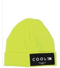 cool t.m. yellow beanie