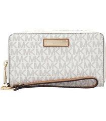 michael kors cream wallet