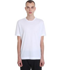 z zegna t-shirt in white cotton