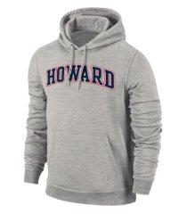 retro brand howard university men's arch screenprint hooded sweatshirt