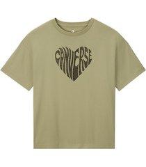 t-shirt korte mouw converse 10018940-a04