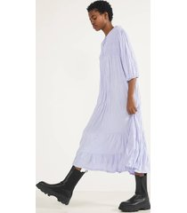 babydoll-jurk met reliëf