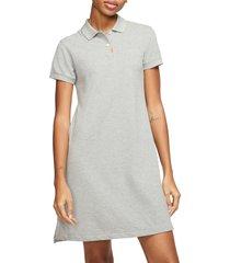 women's nike dri-fit polo dress, size x-small - grey