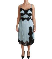 lingerie slip lace midi jurk