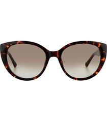 gafas fossil acetato marrón mujer 100% uv