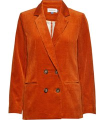dhpenelope blazer blazer colbert oranje denim hunter