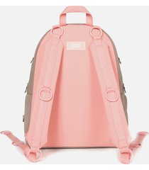 eastpak men's x raf simons loop padded pak'r backpack - grey/pink