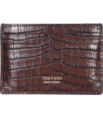 tom ford card holder with logo