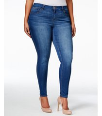 celebrity pink plus size infinite stretch dawson super-skinny jeans