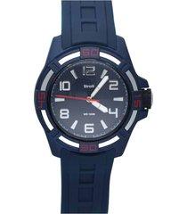 stockholm – orologio so fancy 3h blu con cinturino blu per uomo