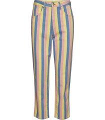 mom jeans pantalon met rechte pijpen multi/patroon wrangler