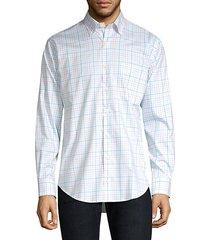 crown ease checker shirt