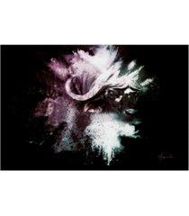 "philippe hugonnard wild explosion collection - the cape buffalo canvas art - 15.5"" x 21"""