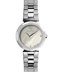 idyia stainless steel bracelet watch