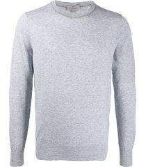 canali classic sweatshirt - grey