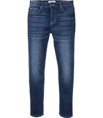 jeans elasticizzati ultra morbidi slim fit straight (blu) - john baner jeanswear