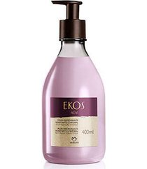 polpa desodorante hidratante corporal açaí ekos - 400ml
