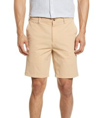 men's onia versatility shorts, size 34 - brown