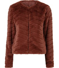 fuskpäls vmbrooklyn faux fur short jacket