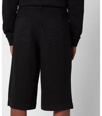 kenzo men's casual shorts - black - 52/xl