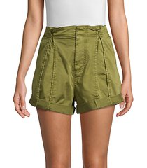 xandria rolled cargo shorts