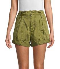 xandria rolled cargo shorts