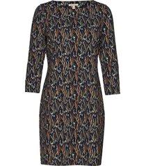 barbour exmoor dress knälång klänning blå barbour