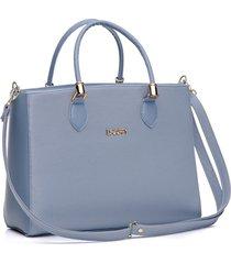 bolsa dhaffy bolsas lisa grande azul