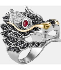 women's john hardy 'naga' dragon cocktail ring