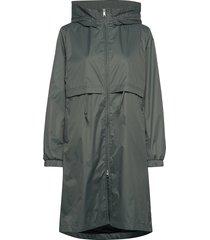 den jacket regenkleding groen makia