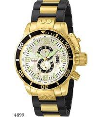 relógio invicta analógico corduba - 4899 masculino